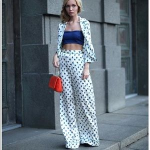 Firm! Kate Moss x Topshop Satin Trousers